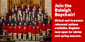 Raleigh Boychoir Auditions