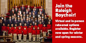 Raleigh Boychoir Auditions